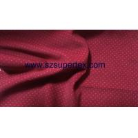 Best 21W Cotton Corduroy Velvet Fabric with Pigment Dot Print Soft Handfeel without Wash wholesale