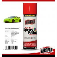 Buy cheap Colorful Aerosol Spray Paint 5 Minutes Surface Dry Time For Wood / Metal from wholesalers