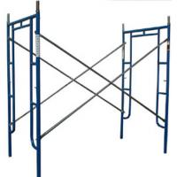 Best Q345 Steel Scaffold Towers Scaffolding Cross Bracing For Residential Contractors wholesale