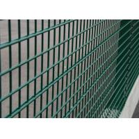 Best Welded Wire Fence Panels 100X200 MM Mesh Size With Peach Post 40X70 MM wholesale