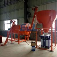 Sand Powder Double Paddle Spiral Dry Mortar Mixer With Double Ribbon Blender