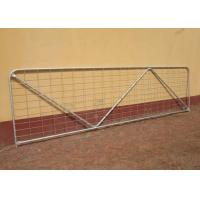 Best Robust Portable Welded Wire Mesh Fence Metal Farm Gates Modern Style wholesale