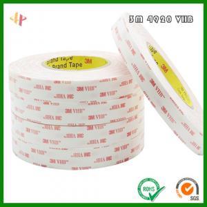 Best 3M4920VHB high strength acrylic foam double-sided adhesive _ 3M4920 foam tape wholesale