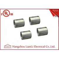 Best 1-1/4 inch 1-1/2 inch Electro Galvanized IMC Coupling 3.0mm Thickness Inside Thread wholesale