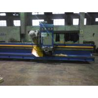 Buy cheap 90 Degree Steel Plate Groove Milling Machine with Taiwan Imported Milling Head from wholesalers