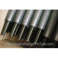 Quality Bi-metal refrigeration Extruded Fin Tube ,  A210 Gr A1 / C SMLS carbon Tubing wholesale
