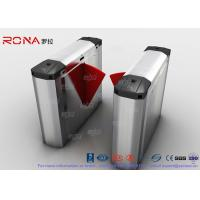 Best 304 Stainless Steel Heavy Duty Automatic Flap Barrier Turnstile For Entrance & Exit Control System wholesale