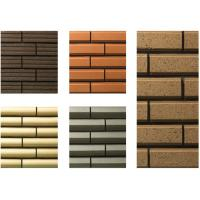 Best Plane Surfaces Special Shaped Bricks , Thin Veneer Brick Customized wholesale