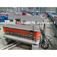 Best North America Popular Galvanized Steel Double Layer Roof Sheet Cold Roll Forming Machine wholesale