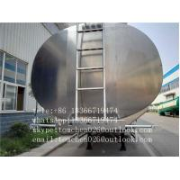 China Special Purpose Vehicle Asphalt Tank Trailer For Liquid Transporting on sale