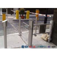 Cheap High Speed Double Core Biometric Swing Barrier Gate Stainless Steel for Fitness Center for sale