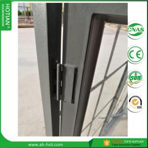 Cheap China top supplier steel window design triple glazed windows double glass pane for sale