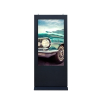 Best IP65 ST-43 Outdoor LCD Advertising Display 7200rmp Infrared Double Touch wholesale