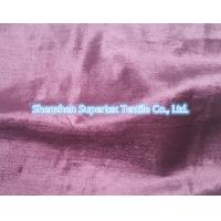 Best Rayon Cotton Velvet Fabric Like Silk Effect With Slub In Reactive Solid Dyed wholesale