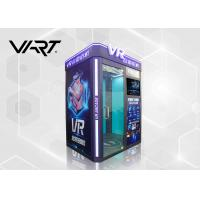 Best 4KW Virtual Reality Gaming Machine / 9D VR Cinema Simulator with 20 Pcs Games wholesale