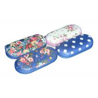 China Professional Customized EVA Glasses Case / Ladies Eyeglass Case With Zipper on sale