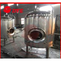 Best 500 L Insulated Jacket Cooling Tank Or Beer Fermentation Tank wholesale