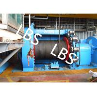 Cheap Lebus Grooves Offshore Winch Oil Well Drilling Rig Parts Winch With Brake Disc for sale