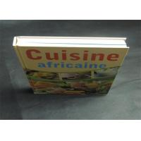 Best Health Note Book / Cook Book Printing Pantone Color A4 B5 Case Bound Spot UV wholesale