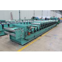Quality colored steel Corrugated Roof Sheet Roll Forming Machine with cut to length devices wholesale