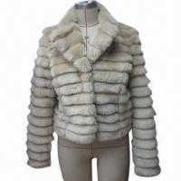 China Fake Fur Coat for Ladies, Available in Various Sizes, Styles, Colors and Designs on sale