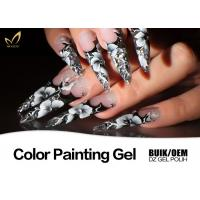 Best Colorful Nail Art Design Gel Nail Paint Lacquer Nail Polish OEM / ODM Available wholesale