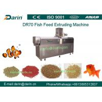 Best DR70 High Quality Stainless Steel  Floating Fish Feed Double Screw Processing Line wholesale