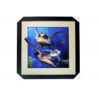 Cheap Stock 5D pictures with Frame 3D Lenticular Pictures Popular Wolf Image for sale