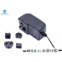 Best 18V 1A Interchangeable Plug Power Adapter Power Supply With UL CE GS Certifications wholesale