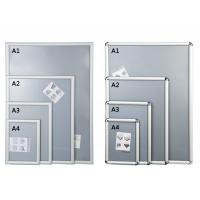 Best Silver Shining Wall Mounted Snap Lock Frames With One Picture Capacity wholesale