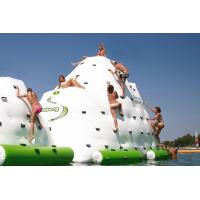 Best Popular Climbing Inflatable Water Toys , Inflatable Water Ice Berge wholesale