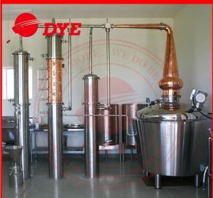 Best 800L Manual Alcohol Distiller Apparatus , Vodka Distillation Equipment wholesale