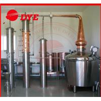 Best High Effective Whiskey Stills Vodka Gin Alcohol Distillation Equipment wholesale