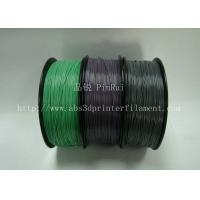 Best Custom Color Changing abs and makerbot pla filament 1.75 / 3.0mm Grey to white wholesale