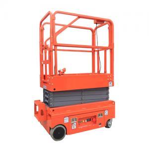 Best 24V 4.5W Hydraulic Man Lift Equipment / Scissor Lift Extension Platform Painting Surface wholesale