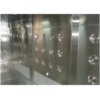 Best Customized Air Shower Tunnel With Automatic Sliding Door And PLC Control System wholesale