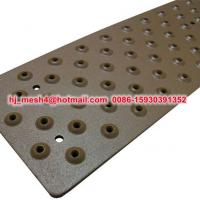 China non-slip metal plate on sale