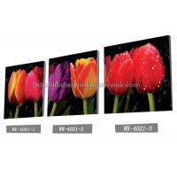 Best Decoration Flower Pictures Custom Lenticular Printing Frameless PET Printing wholesale