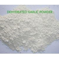 Buy cheap Grade A orgnic dehydrated garlic power 100-120mesh ,natural pure garlic products from wholesalers