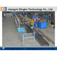 China GCr15 Bearing Steel Cable Tray Roll Forming Machine With Hydraulic Cutting System on sale