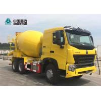 China Heavy Duty Euro 2 371HP 6x4 10 Wheels 8CBM HOWO A7 Concrete Mixer Truck on sale