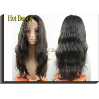 Best Wholesale Price 100% Human Hair Full Lace Wigs Natural Black 1b# wholesale