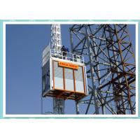 Heavy Duty Construction Passenger Hoist , Material Lift And Elevator