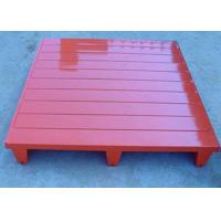 Best Customized Stackable Steel Pallets Metal With CE ISO9001 Certification wholesale