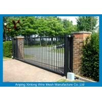 Best Rot Proof Electric Sliding Gates For Driveways Galvanized / PVc Coated Surface Treatment wholesale