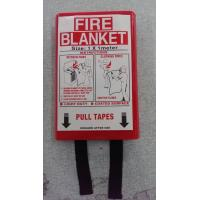 Quality Multipurpose Emergency Fire Blanket , Fire Resistant Blanket In PVC Red Bag wholesale
