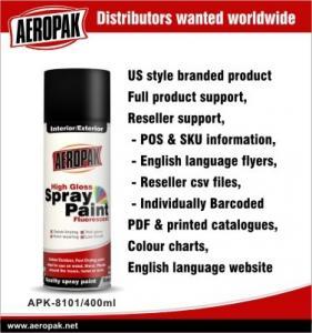 Best Paint And Coating Black Color Aerosol Acrylic Spray Paint  400ml 300ml wholesale