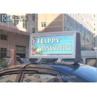 Best Customized Size Meanwell Car Led Sign Display Waterproof 160x160mm wholesale