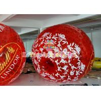 Best Outdoor Inflatable Games Colorful Inflatable Zorb Ball for Human , Human Hamster Ball . wholesale