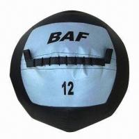 Best Leather Medicine Ball, Made of PVC, Space Leather PP and Sand, Available in Various Colors wholesale